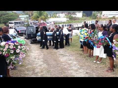 Burial of David van Putten PJ7VP
