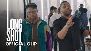 Long Shot (2019 Movie) Lance At The Office - O'Shea Jackson, Seth Rogen, Charlize Theron