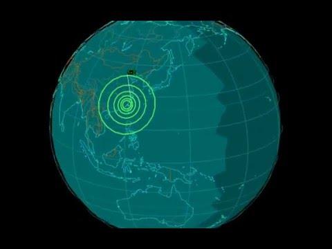 EQ3D ALERT: 4/10/16 - 5.2 magnitude earthquake in the East China Sea