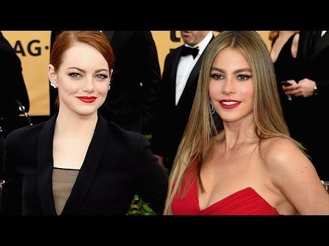 Sofía Vergara  y Emma Stone las más sexy de los SAG Awards 2015