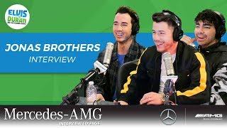 Jonas Brothers Reunite and Takeover Our Show | Elvis Duran Show