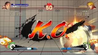 Super Street Fighter IV Online Ranked - Ryu vs Ken