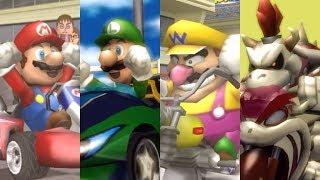 Mario Kart Wii - All Characters Win/Lose Animations