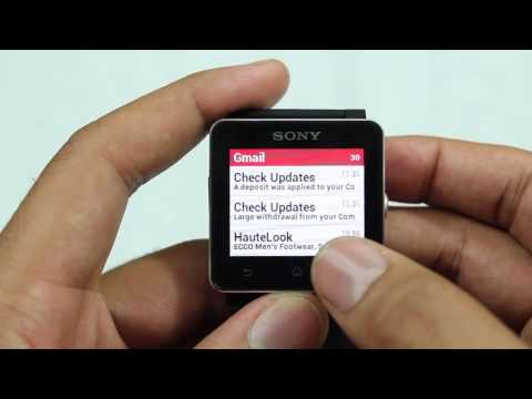 Sony Smartwatch 2 Review - APPLESony SmartWatch 2 for Android SmartphonesSONY Smart Watch (LiveView