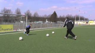 virtuelles Torwarttraining - Eins gegen Eins (reloaded)