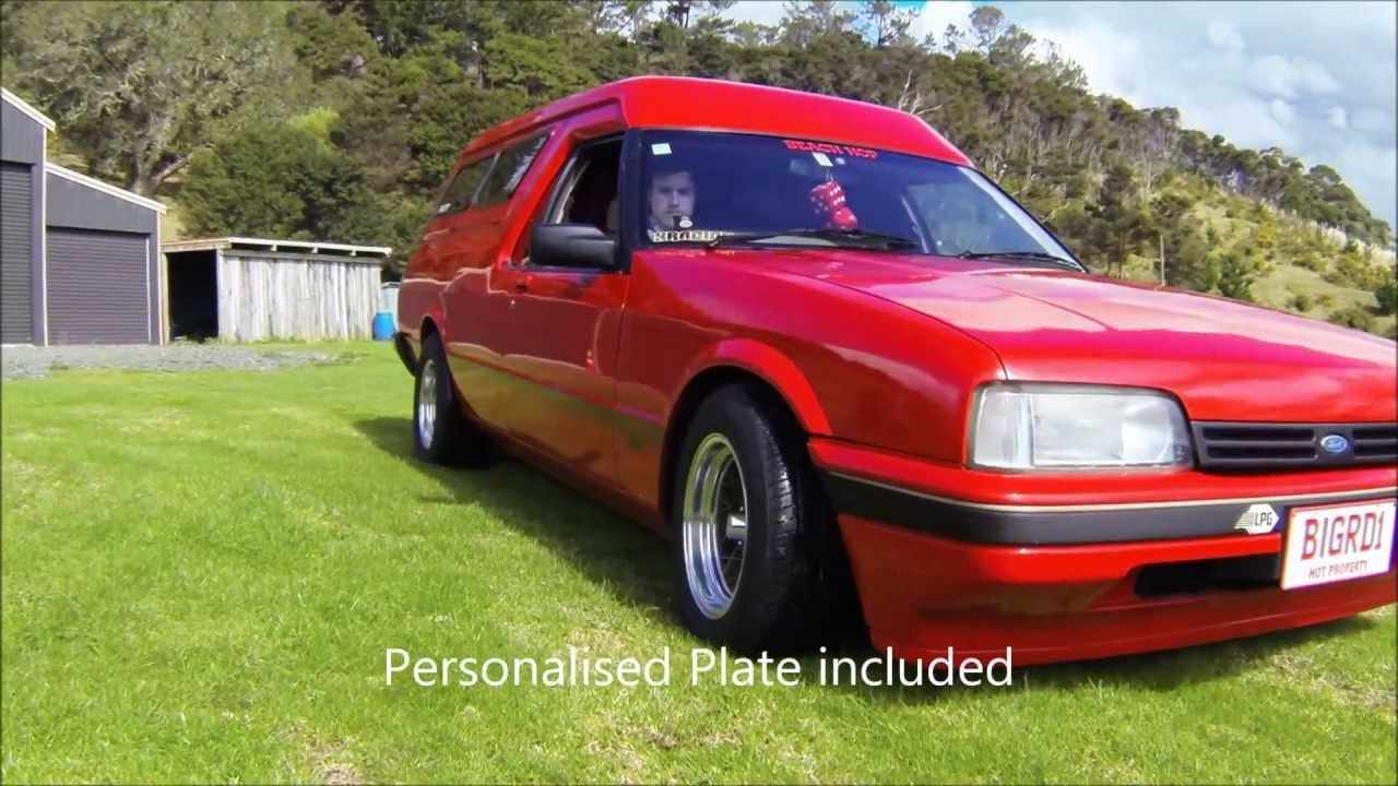 Custom Vans For Sale >> 1987 Ford Falcon Panelvan S - YouTube