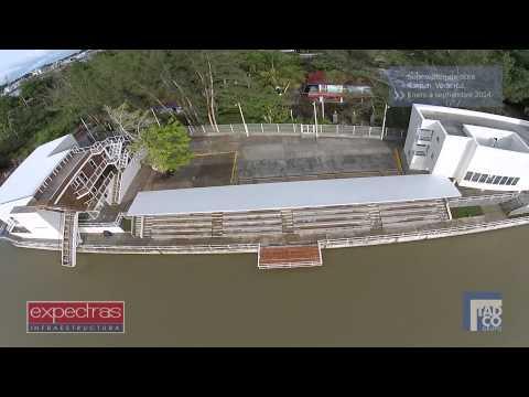 Supervisión de obra Pista de Canotaje, Tuxpan Veracruz