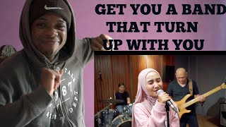 ONE OK ROCK - Taking Off (cover by Fatin) - REACTION