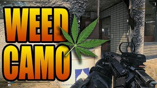 Ghosts Leaked Camos! Weed, Bling, Gold Ore, Barbed Wire! (COD Ghost Possible Weapon Gun Camo DLC)