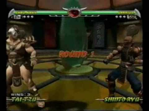Mortal Kombat Deception Arcade Shao Kahn