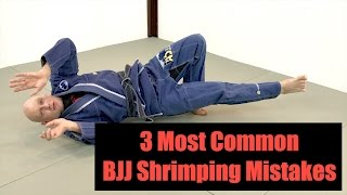 3 Most Common BJJ Shrimping Mistakes