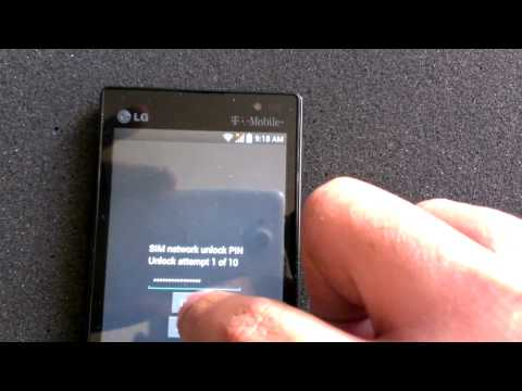 LG Optimus L9 Unlock Tutorial