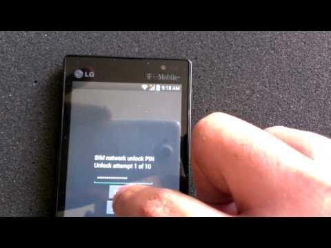 LG Optimus L9 Unlock Tutorial
