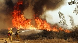 FIRE IN SAN DIEGO, CARLSBAD, SAN MARCOS May 14-15, 2014