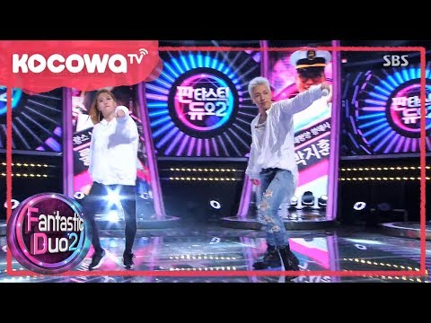 [Fantastic Duo2] Ep23_Taeyang (Big Bang) and 'Incheon's Sexy Abs Queen' Ringa Ringa Dance off