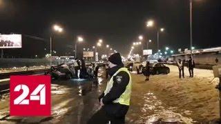 В Киеве прогремели взрывы гранат - Россия 24