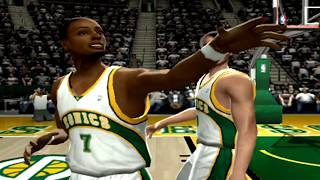 Seattle Supersonics Rebuild - TAKING ON KG & KOBE - NBA Live 2005 Dynasty ep5