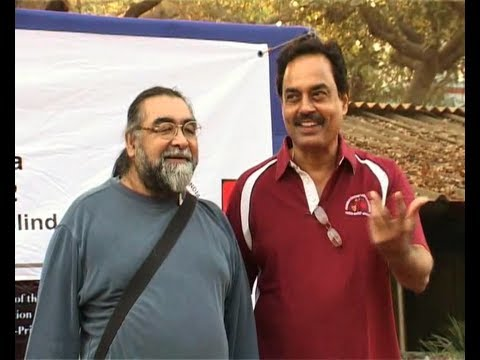 Prahlad Kakkar At Blind Man Car Rally 2012