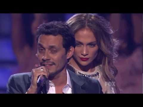Jennifer Lopez Dancing on American Idol