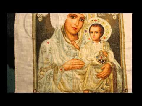 Икона божией матери иерусалимская вышивка 67
