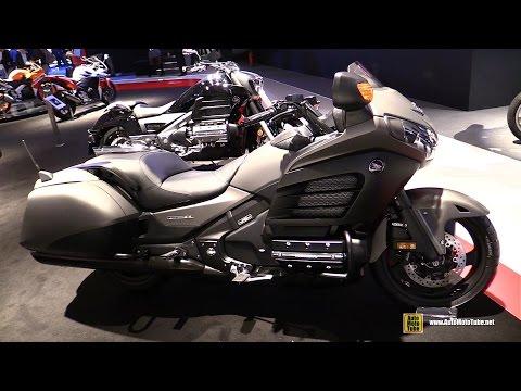 2015 Honda GoldWing F6B 40th Anniversary Edition - Walkaround - 2014 EICMA Milan Motorcycle Show