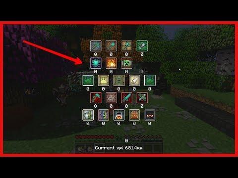 habilidades estyilo RPG en minecraft!!!!! Minecraft 1.12.2 MOD review
