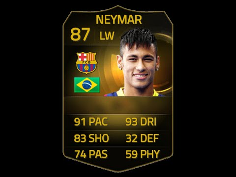 FIFA 15 IF NEYMAR 87 Player Review & In Game Stats Ultimate Team