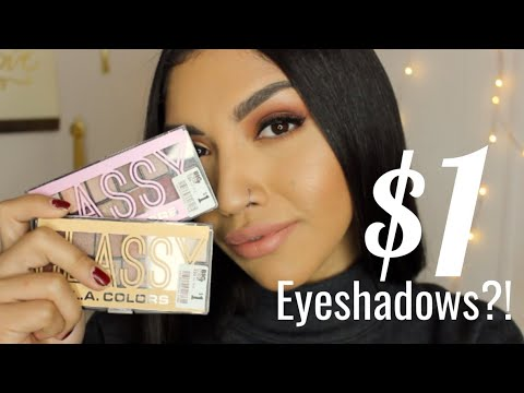 $1 EYESHADOW PALETTE? Worth it or Nahh? mariaagloriaa 2018