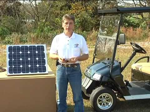 DPI Solar Power System for Use With Golf Carts and Electric Vehicles