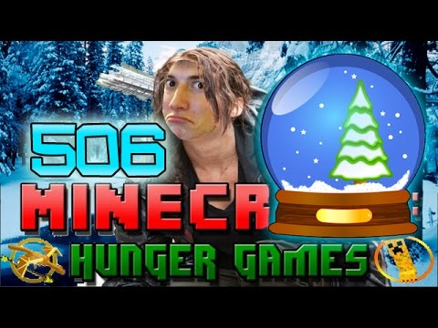 Minecraft: Hunger Games SNOWGLOBE w Mitch Game 506 NEW WINTER MAP