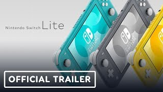 Nintendo Switch Lite Official Reveal Trailer