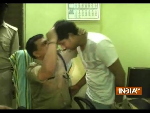 Jyoti Murder Case accused Piyush gets a pat and kiss on forehead