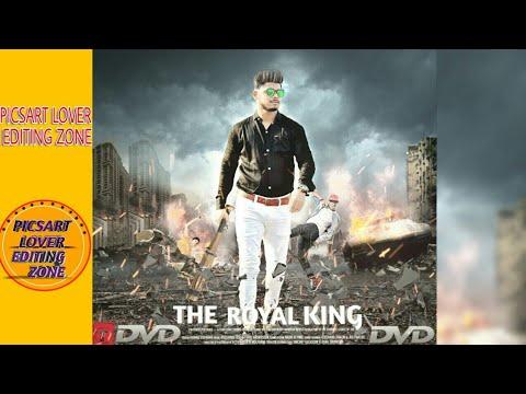 PICSART LOVER THE ROYAL KING MOVIE DESIGNING PHOTO EDITING MANIPULATE PICSART PHOTO EDITING TUTORIAL