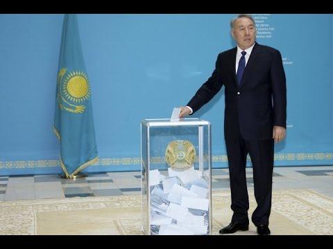 Предварительные итоги: Назарбаев набрал на выборах президента Казахстана 97,7% голосов