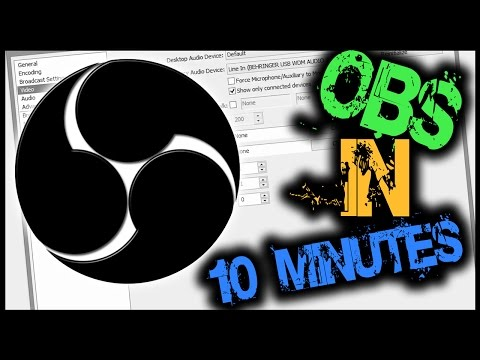 OBS Tutorial - Stream in 10 Minutes!