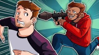 THE LUI TAKEDOWN!! - GTA 5 Online Funny Moments