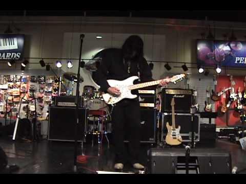 Joe Stump - Sam Ash Clinic June 2010 w/ insane guitar footage!!