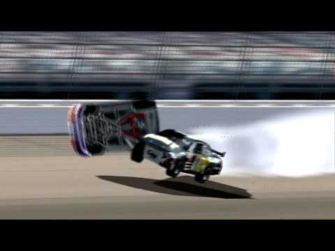 Nascar Racing 2003 Auto Braking Cheat on Nr 2003 Nascar Crashes  6