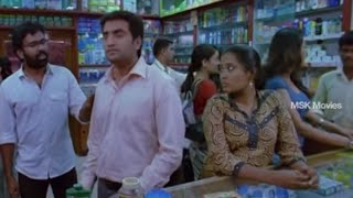 "Santhanam Comedy Scene @ Medical Shop - ""Mandhira Punnagai"" Tamil Movie"