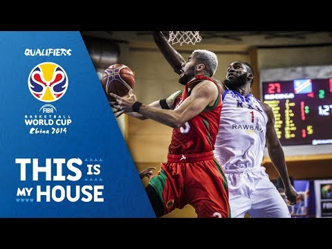 Dem.Rep. of Congo v Morocco - Highlights - FIBA Basketball World Cup 2019 - African Qualifiers