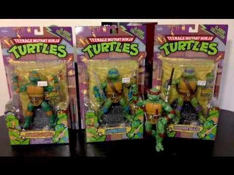 Tortugas Ninja Classic Collection (Playmate Toys) Unboxing en español