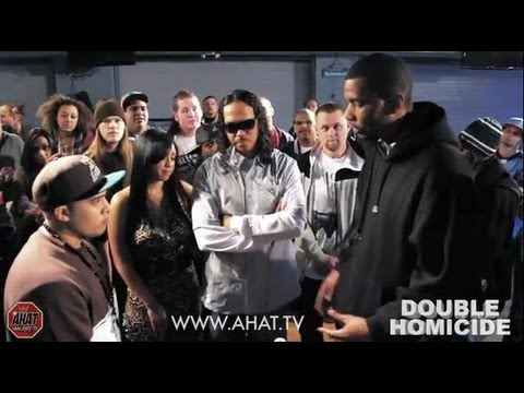 Konflict vs Theory AHAT 42 Double Homicide rap battle