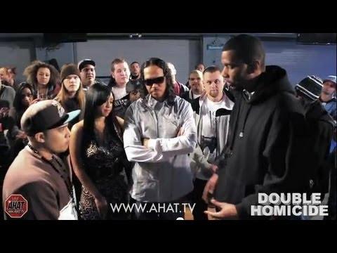 Konflict vs Theory AHAT 42 Double Homicide rap battle