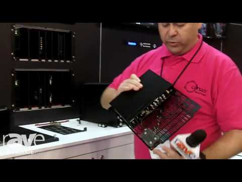 Integrate 2016: tvONE Showcases the ONErack Universal Rack Mounting System on the Corsair Stand