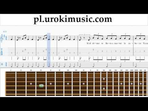 Nauka Gry Na Gitarze J. Balvin, Willy William - Mi Gente Nuty Poradnik Część 2 Um-i463