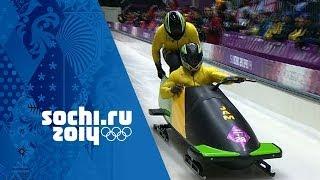 Bobsleigh - Men's Two-Man Heats 1 & 2 | Sochi 2014 Winter Olympics