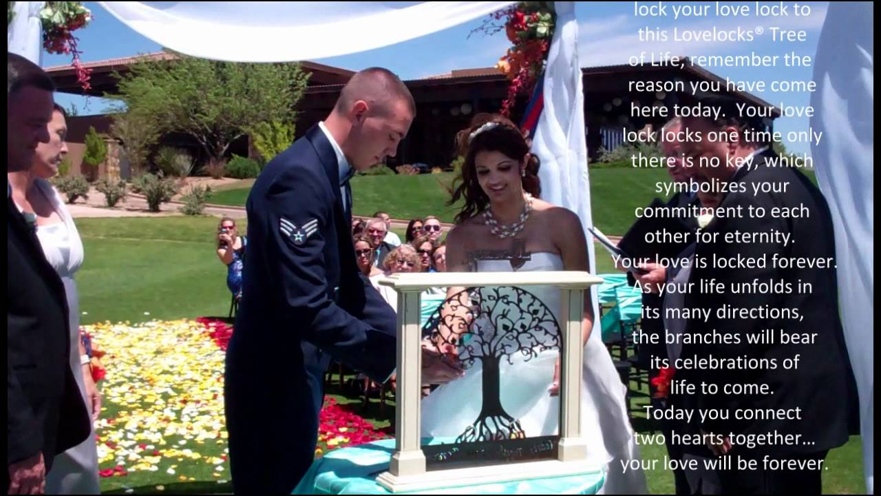 Lovelocks Quot Tree Of Life Quot Wedding Ceremony Full Screen Wmv