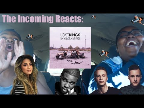 LOOK AT  US NOW - LOST KINGS FEAT. ALLY BROOKE & A$AP FERG REACTION