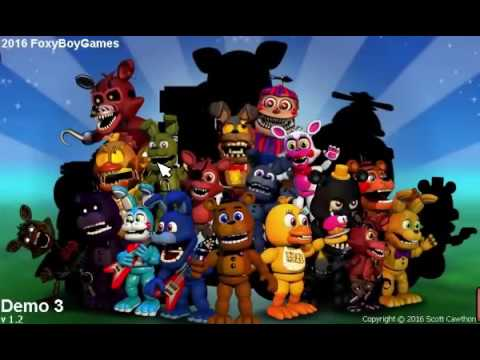 FNaF World FoxyBoy's Edition (Official) DEMO 3