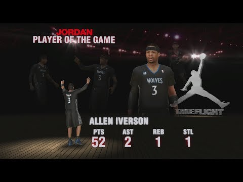 NBA 2K14 My Team - Allen Iverson GAMEPLAY & Review!